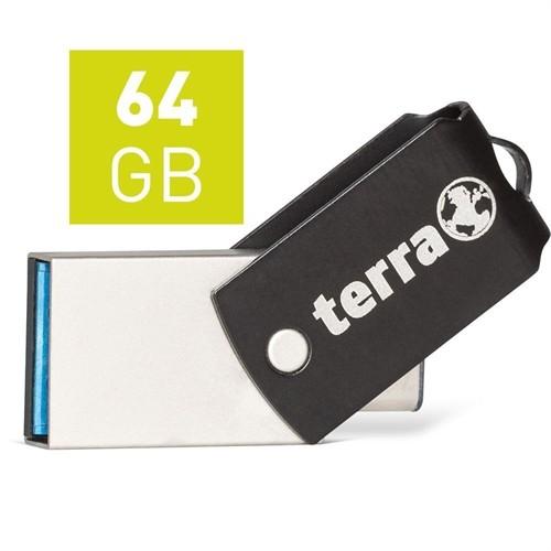 TERRA USThree A+C USB3.1  64GB 200/60 black