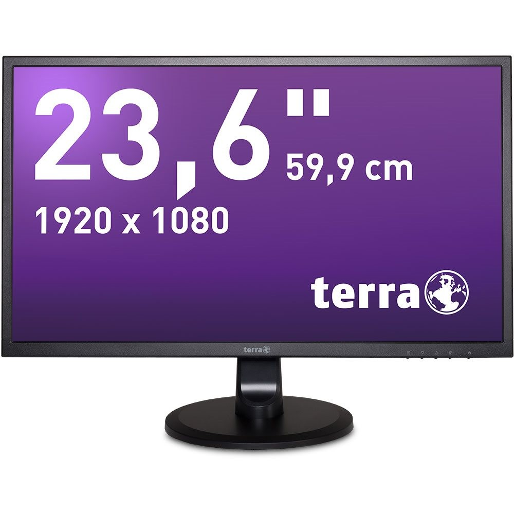 TERRA LED 2447W schwarz HDMI GREENLINE PLUS