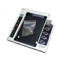 """NB MOBILE ODD Einbaurahmen 12.7mm f. 2.5"""" HDD/SSD"""