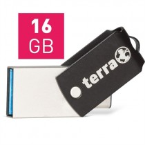 TERRA USThree A+C USB3.1  16GB black Read/Write ~ 110/40 MB/s