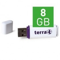 TERRA USBee USB2.0   8GB 14/4 white