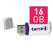 TERRA USThree USB3.0 16GB white Read/Write ~ 110/10 MB/s