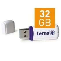 TERRA USThree USB3.0 32GB white Read/Write ~120/15 MB/s