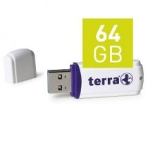 TERRA USThree USB3.0 64GB 100/20 white