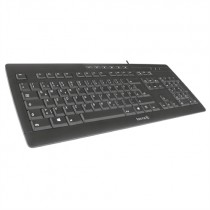TERRA Keyboard 3000 Corded [FR] USB black/noir
