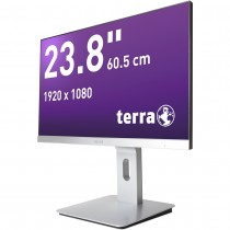 TERRA LED 2462W PV silber DP/HDMI GREENLINE PLUS