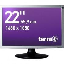 TERRA LED 2230W silber/schwarz DVI GREENLINE PLUS