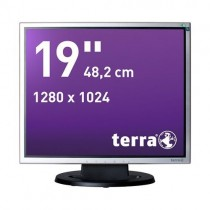 TERRA LED 1940 silb/schw DVI GREENLINE PLUS
