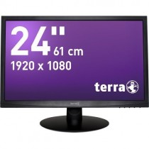 TERRA LED 2412W schwarz DVI GREENLINE PLUS
