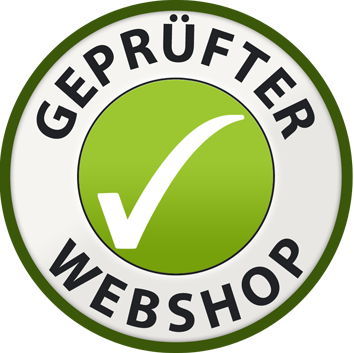 Geprüfter Webshop Logo